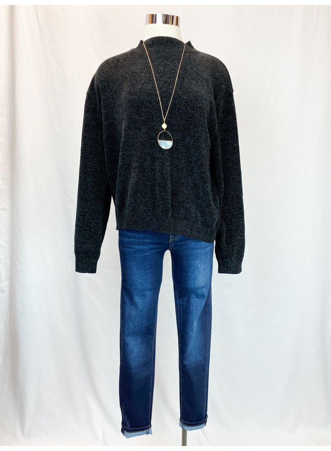 TMK1178 CHENILLE SWEATER
