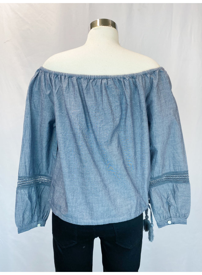 SRT0054 OFF SHOULDER TOP