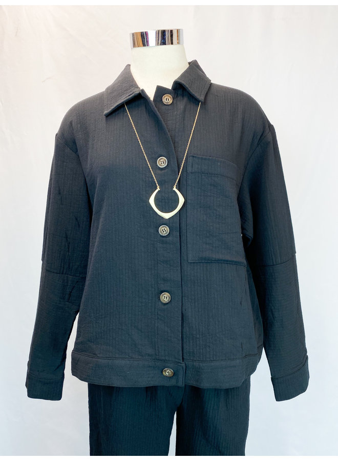 80135 QUILTED COTTON JACKET