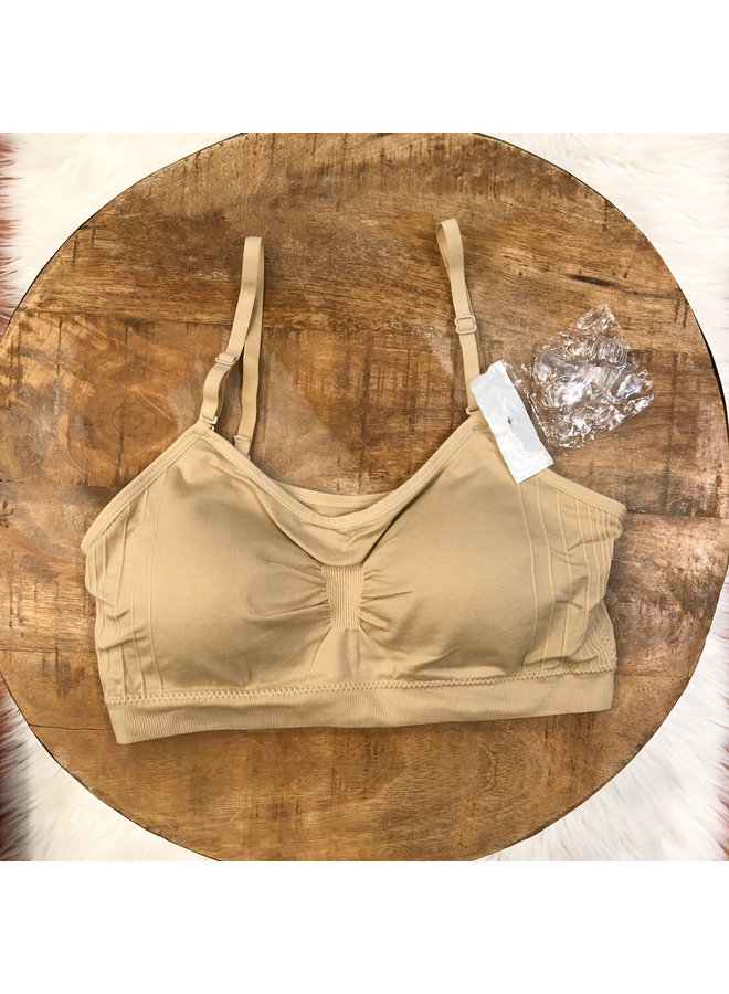 BRALETTE WITH REMOVABLE STRAPS