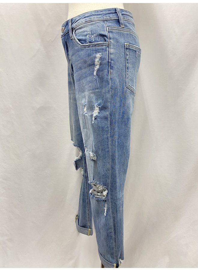 V2116YHC DISTRESSED BOYFRIEND