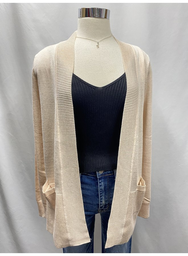 CW1612705 OPEN FRONT CARDIGAN