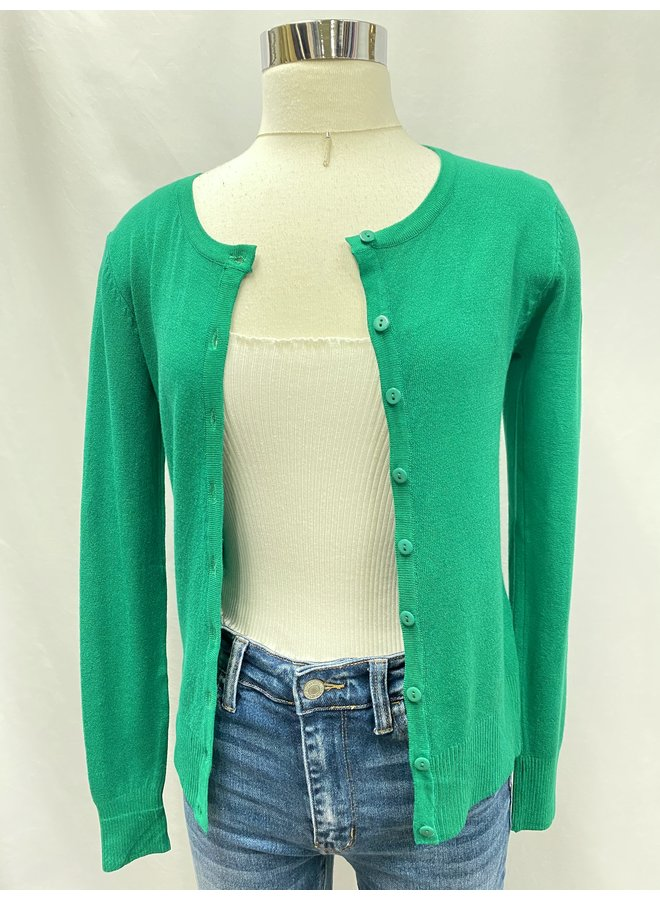 A011 BUTTON DOWN CARDIGAN