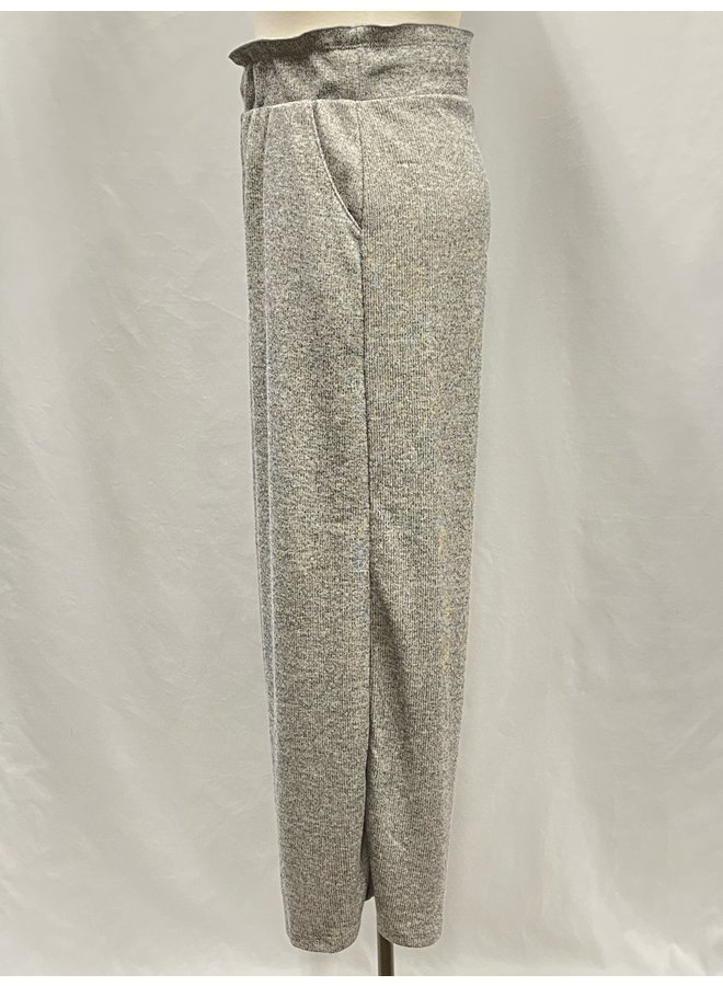 JP70101A SWEATER WIDE LEG PANTS