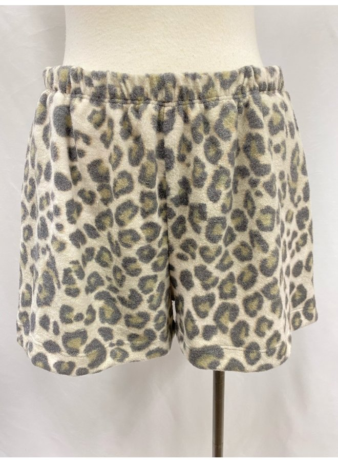 P16727H BRUSHED KINT PULL-ON SHORTS