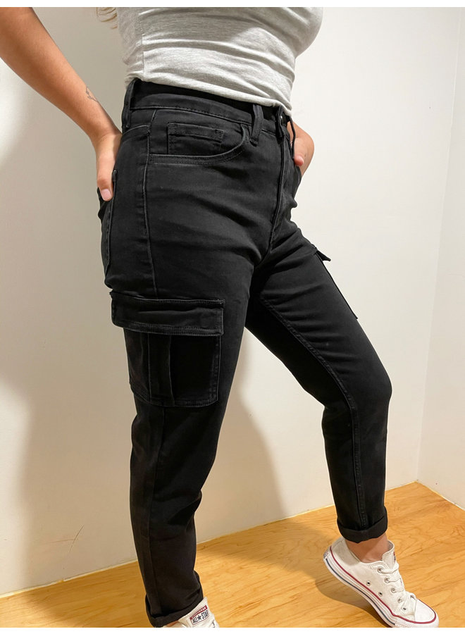 VT1220 UTILITY STRETCH MOM JEANS