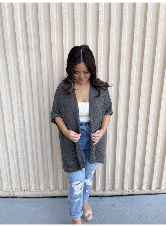 SIDE SLIT CARDIGAN *3 colors available*