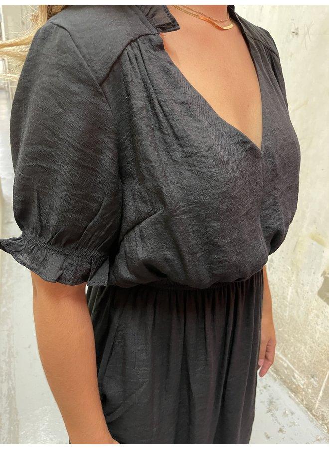 WL19-3353 (OL) TIERED MINI DRESS