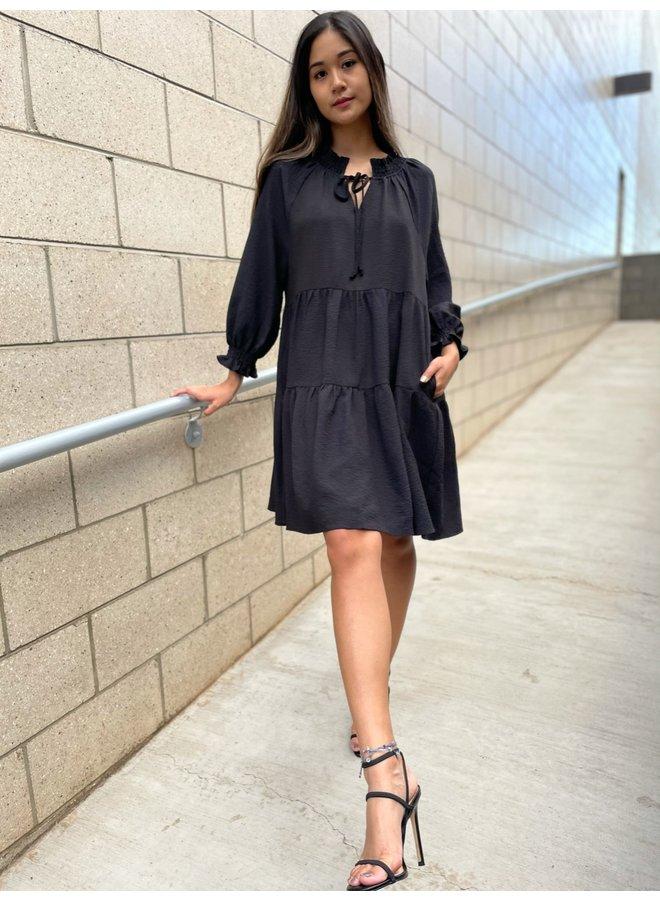 WL20-4103 BABYDOLL MINI DRESS
