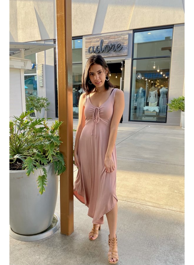 JERSEY KNIT MAXI DRESS *3 colors available*