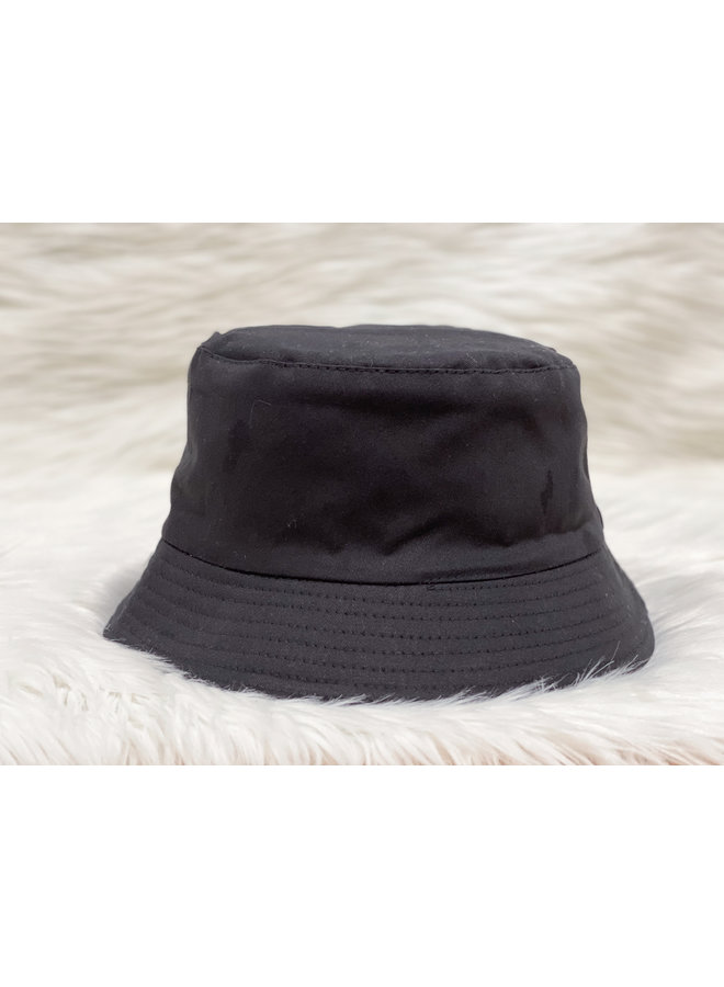 BUCKET HAT-BLACK