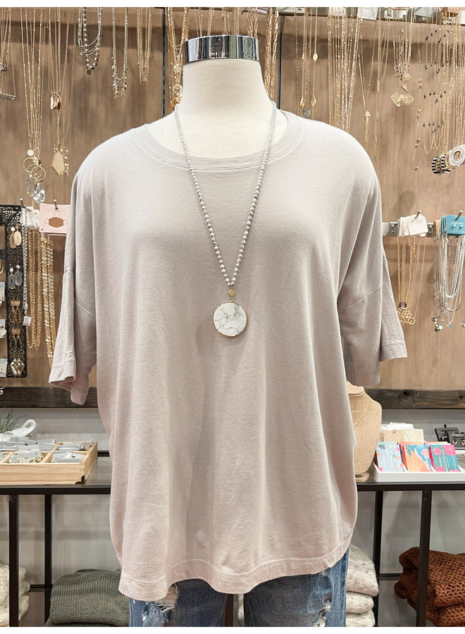 T17254 RELAXED FIT TEE