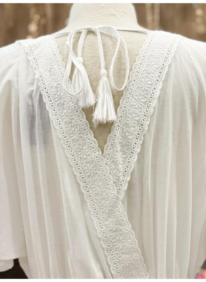 JD40120 EYELET DRESS