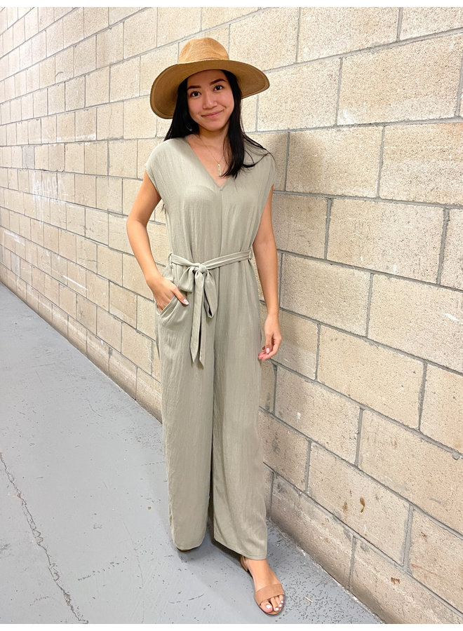 RELAXED FIT JUMPSUIT *3 colors available*