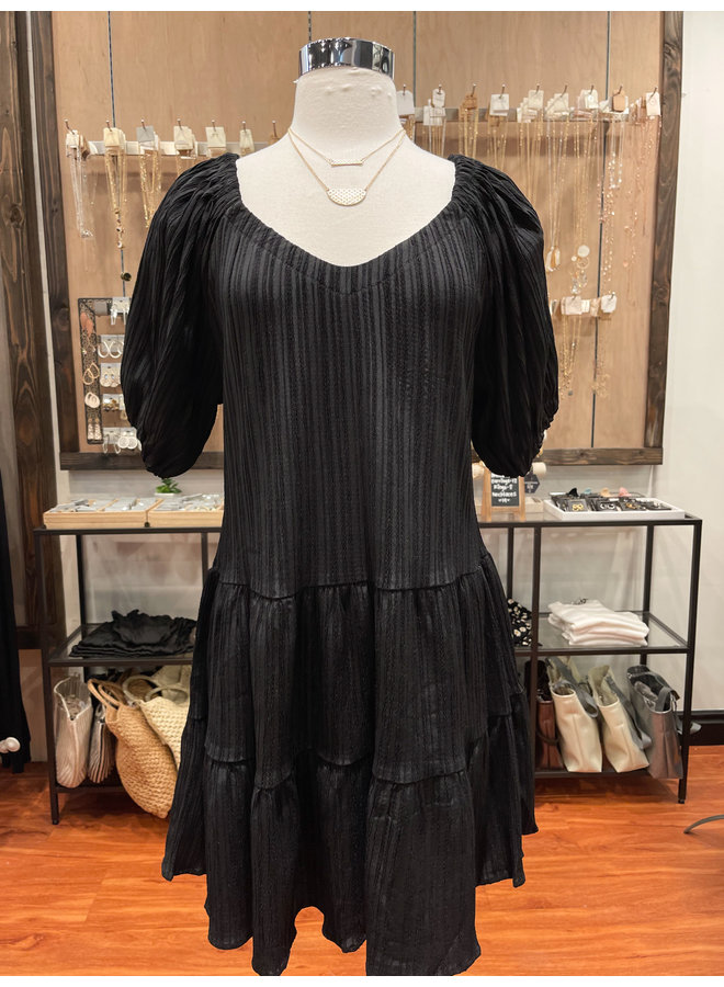 MINI TIERED DRESS