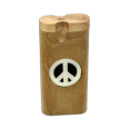 Dougs Large Dugout Glow Inlay Peace