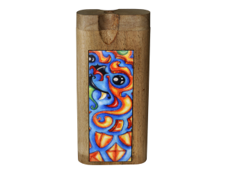 Dougs Large Dugout Color Inlay Oriental Dragon
