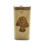 Dougs Large Dugout Laser Butterfly Tribal Mushroom