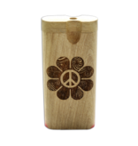 Dougs Large Dugout Laser Peace Flower