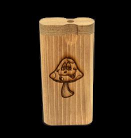 Dougs Large Dugout Laser Smiley Mushroom