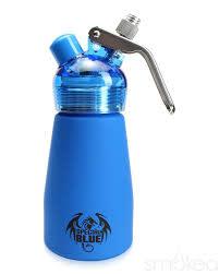 1/2 Pint Aluminum Dispenser Blue Suede