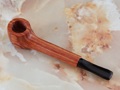 "THE MILL Exotic Wood 3 3/4"" Pipe"