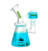 OOZE Glyco Clycerin Chilled Glass Water Pipe Aqua Teal
