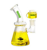 OOZE Glyco Clycerin Chilled Glass Water Pipe Mellow Yellow