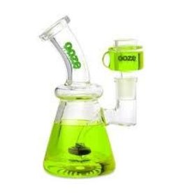 OOZE Glyco Clycerin Chilled Glass Water Pipe Slime Green