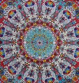 SJ 3D GLOW Tapestry Sunburst