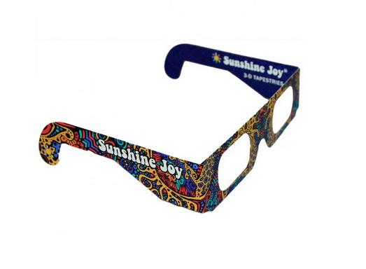 SJ 3D Paper Glasses