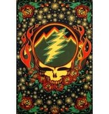 SJ 3D Tapestry Grateful Dead Scarlet Fire