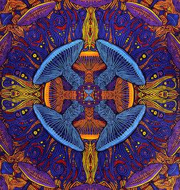 SJ 3D Tapestry Magic Mushrooms