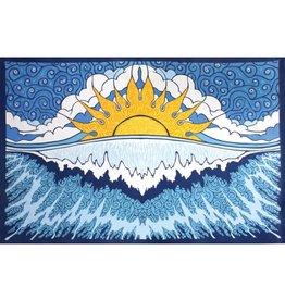 SJ Art Tapestry Sun Wave