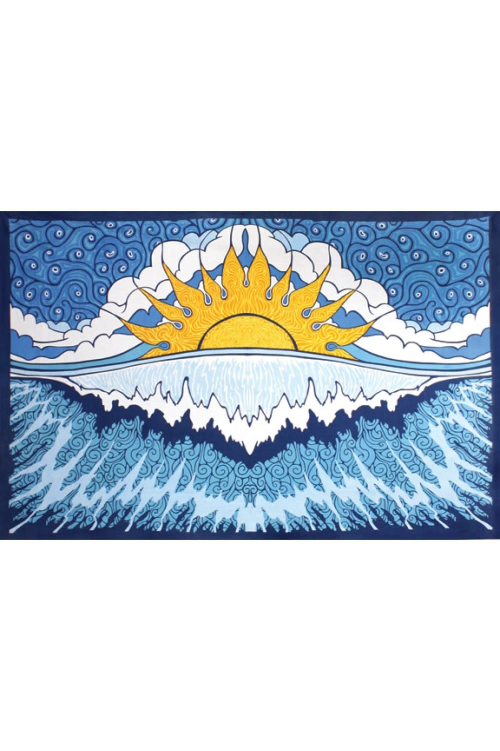 SJ Art Tapestry Sun Wave
