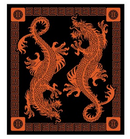 Wonder Walls Oriental Dragon Tapestry