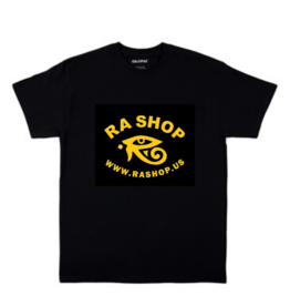 Ra Shop T-Shirt Black Sm