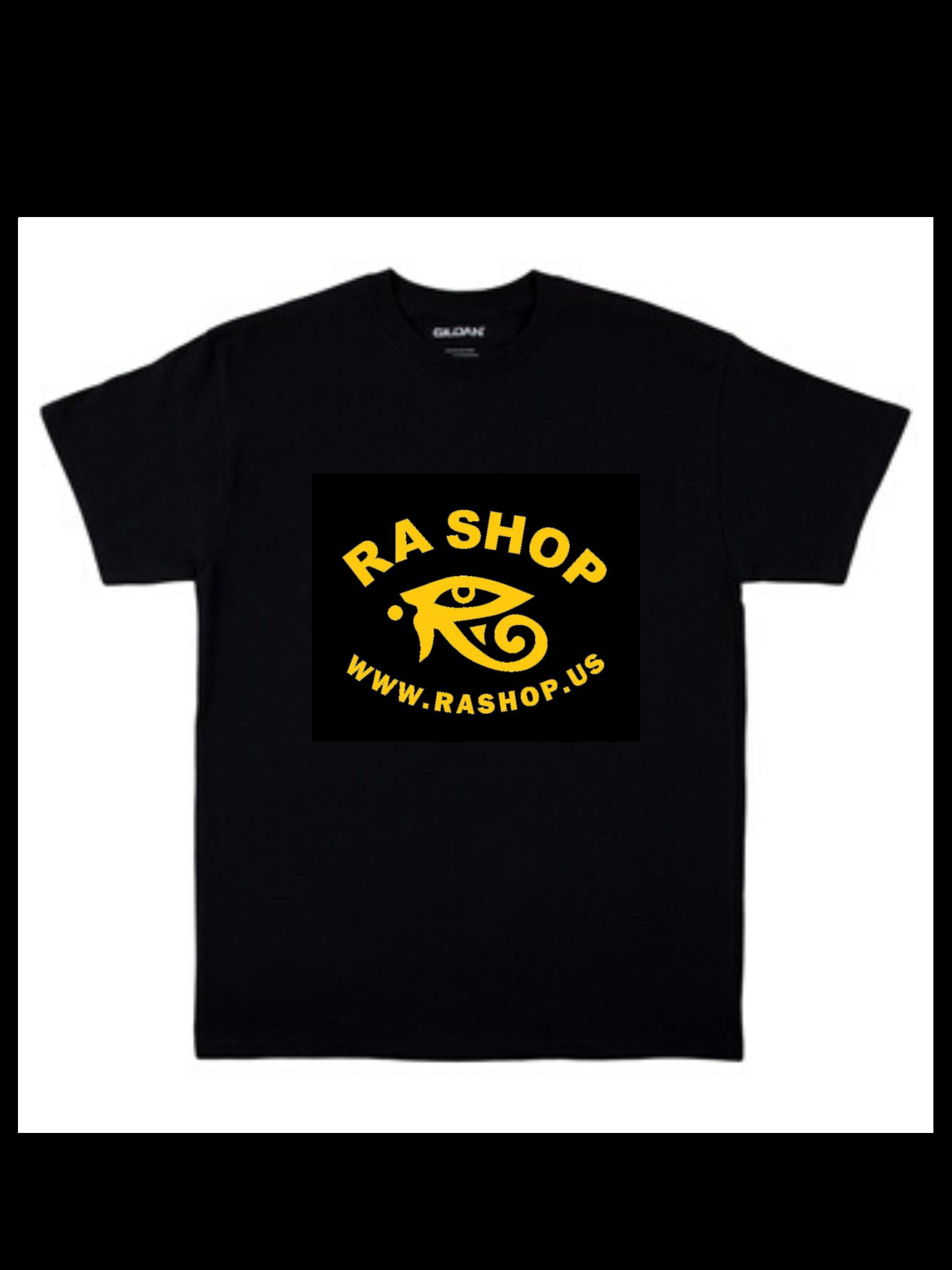 Ra Shop T-Shirt Black Md