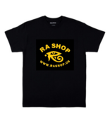 Ra Shop T-Shirt Black Lg