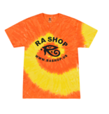 Ra Shop Tie Dye T-Shirt Orange/Yel Sm