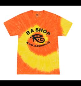 Ra Shop Tie Dye T-Shirt Orange/Yel Lg