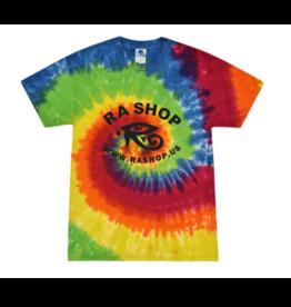 Ra Shop Tie Dye T-Shirt Rainbow Sm