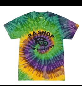 Ra Shop Tie Dye T-Shirt Mardi Gras 2XL