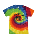 Ra Shop Tie Dye T-Shirt Rainbow Md