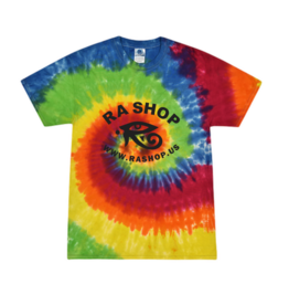 Ra Shop Tie Dye T-Shirt Rainbow Lg