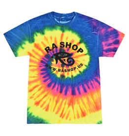 Ra Shop Tie Dye T-Shirt Neon XL