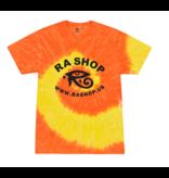 Ra Shop Tie Dye T-Shirt Orange/Yel 2XL