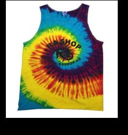 Ra Shop Tie Dye Tank Top Rainbow Lg