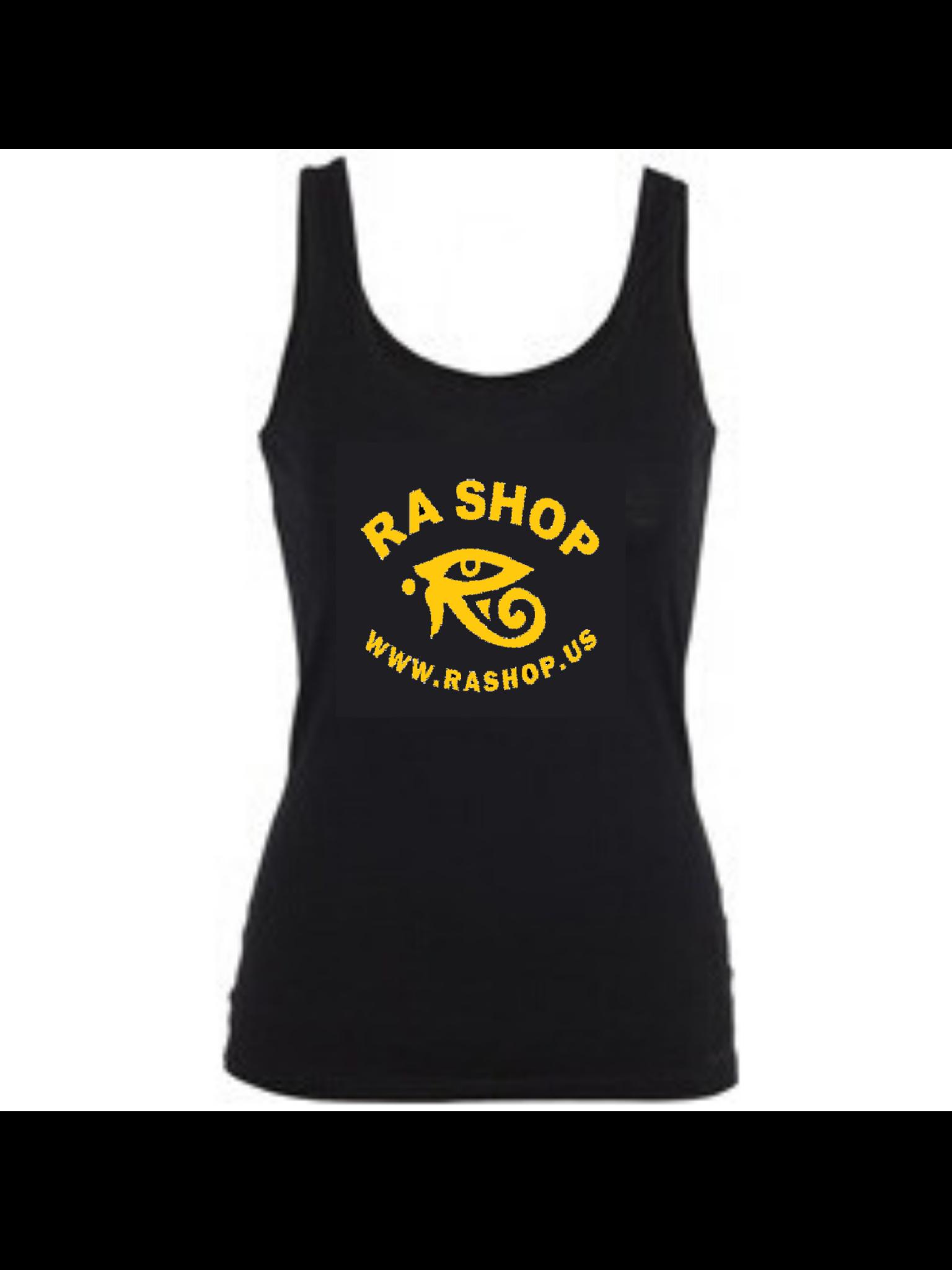 Ra Shop Black Tank Top 2XL