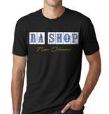 Ra Shop T-Shirt FQ Blue Tile Sm